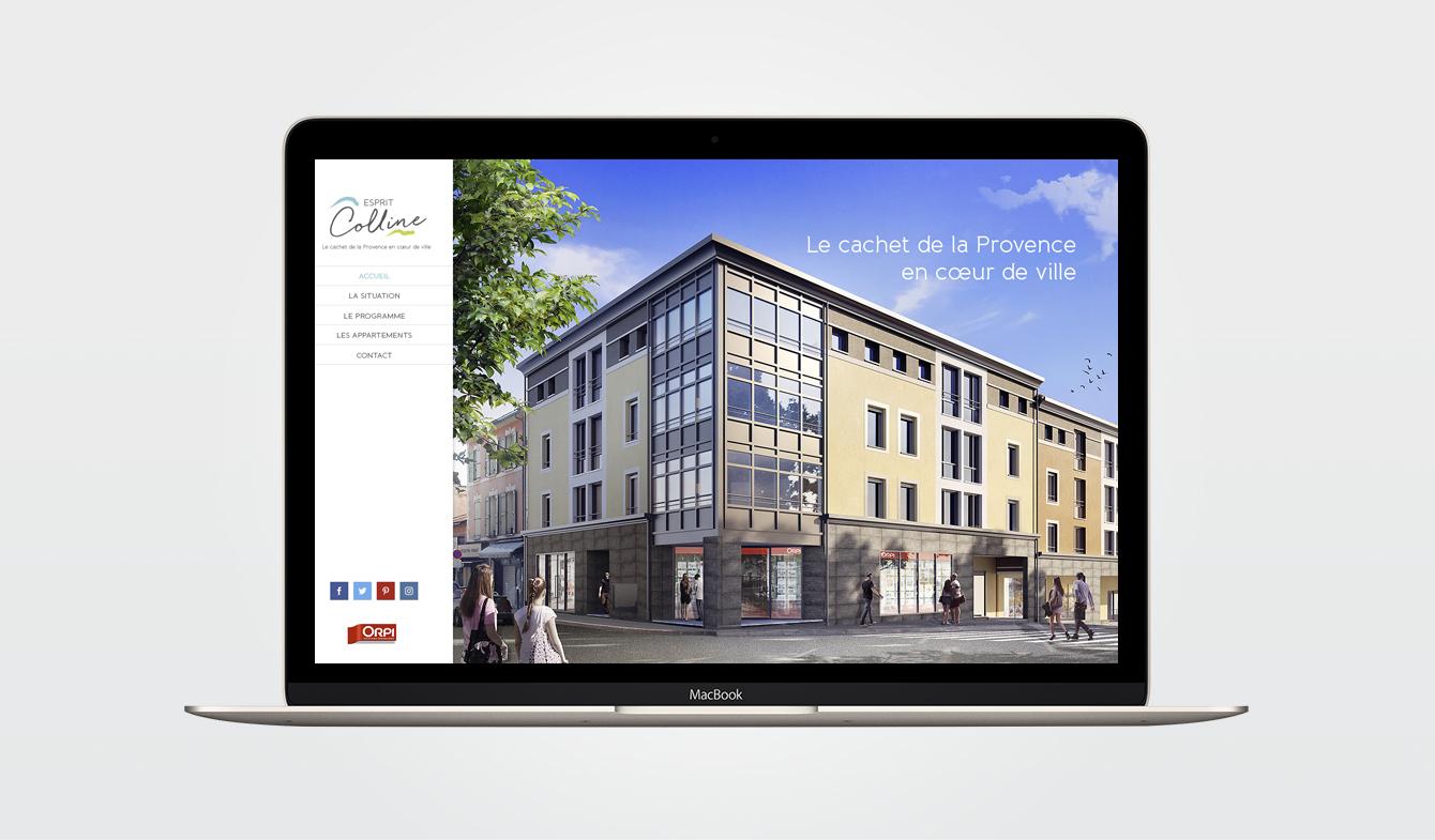 Esprit Colline - Site web dédié au programme