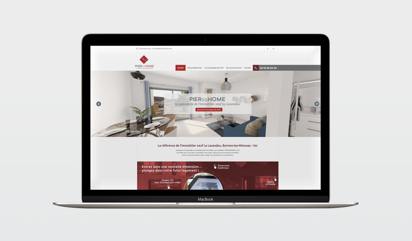 Site Web PierSoHome - Home Page