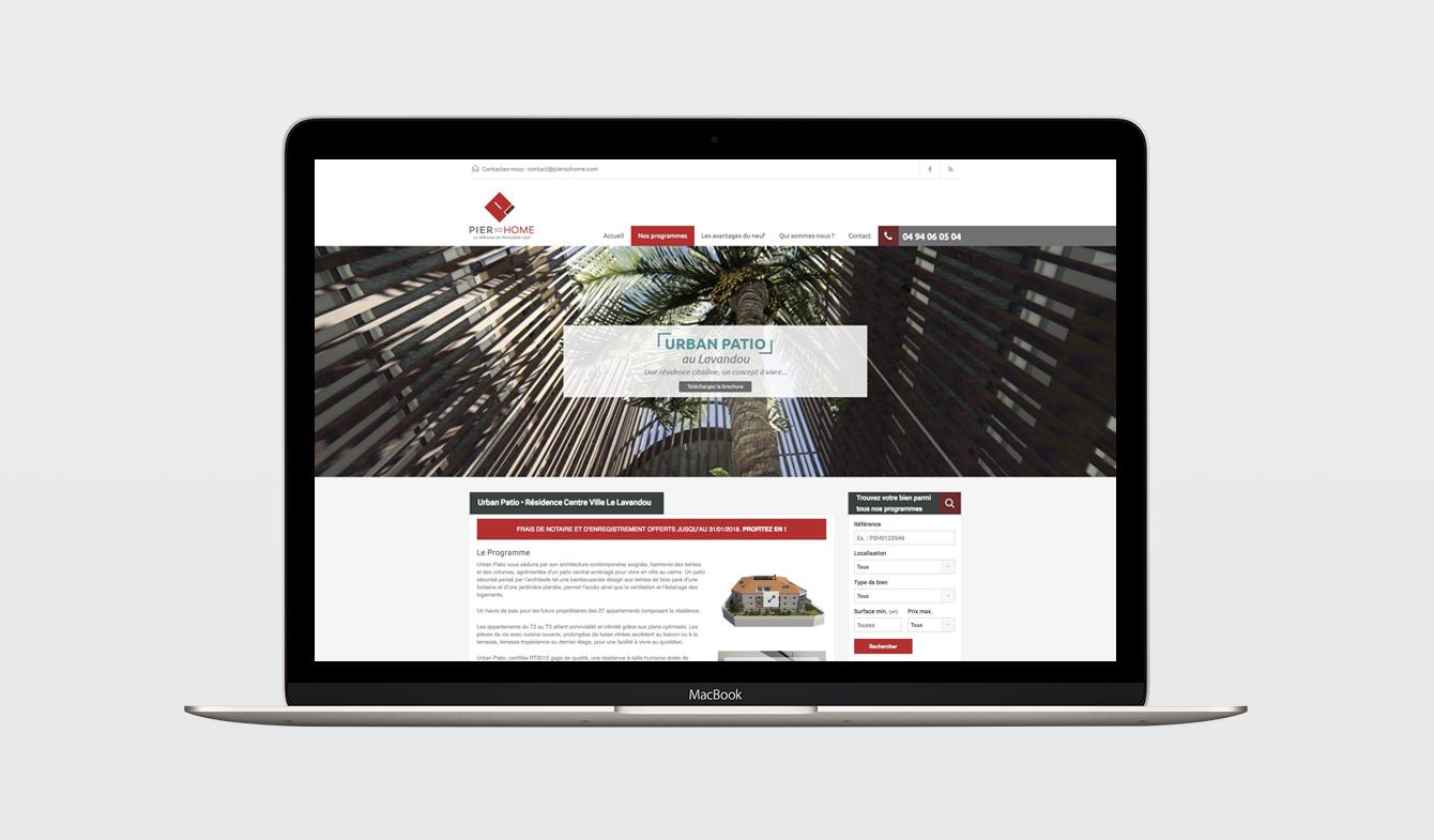 "Site Web PierSoHome - Page ""Programme"""