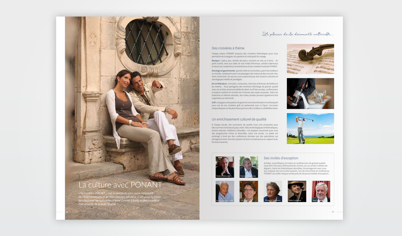 Brochure ETE 2019 Ponant - Pages institutionnelles