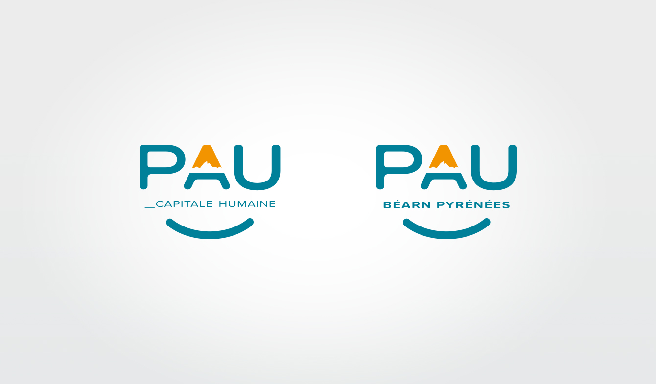 Nouvelle Identité pour le territoire de PAU - Logo