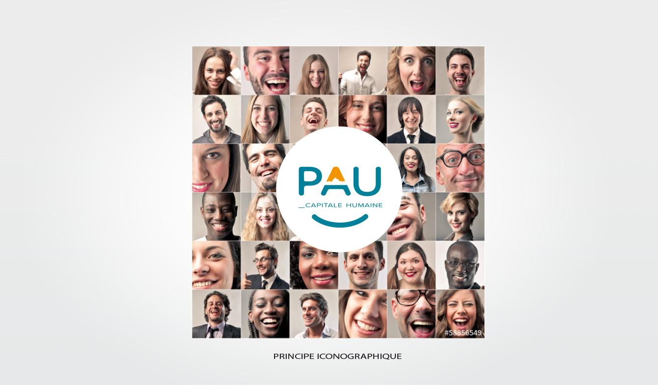 Nouvelle Identité pour le territoire de PAU - Principe iconographique