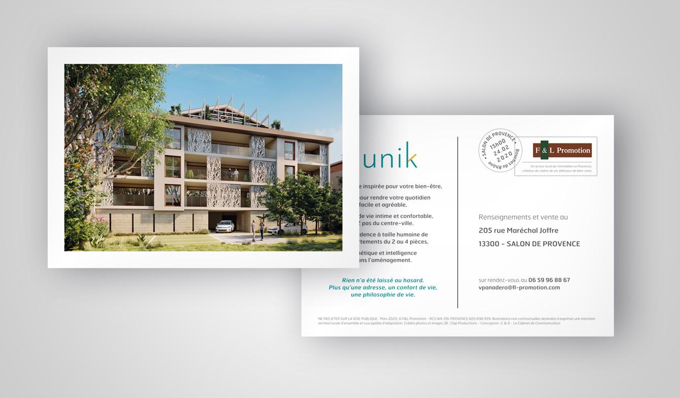Flyer programme immobilier - L'Unik