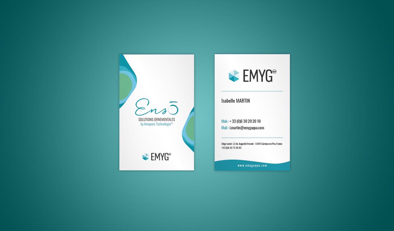 Cartes de visite Enso - EMYG
